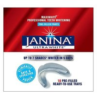 Janina Ultrawhite Maxiwhite Professional Teeth Whitening Pre-filled Trays 10s