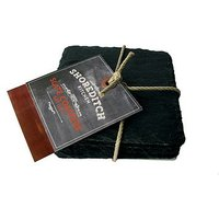 Shoreditch Kitchen Set of 4 slate coasters