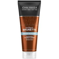 John Frieda Brilliant Brunette Colour Protecting Moisturising Conditioner 250ml