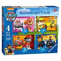 PAW Patrol 4-in-a-box Jigsaw Puzzles