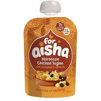 For Aisha Moroccan Chicken Tagine with Couscous & Apricots 7+ Months Stage 2 130g