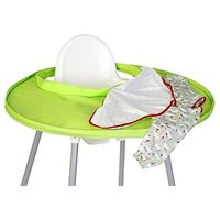 Hippychick Tidy Tot Bib And Tray KitFresh Green