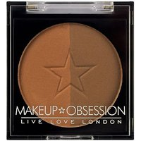 Makeup Obsession Brow Duo Powder BR106 Caramel Brown