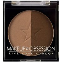 Makeup Obsession Brow Duo Powder BR107 Dark Brown