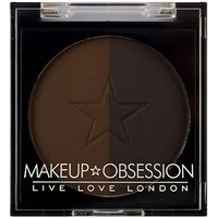 Makeup Obsession Brow Duo Powder BR109 Ebony