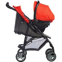 Literider Travel System Black Grey