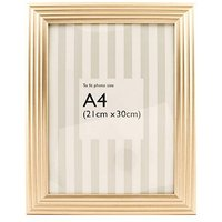 Alkla A4 Gold Photo Frame