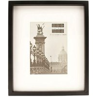 Sixtrees Hanover 7x5 Black Wood Photo Frame