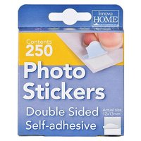 Innova Adhesive Photo Mounting Stickers - 250 Pieces