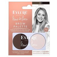 Fleur de Force by Eylure Brow Palette - Dark