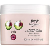 Being By Sanctuary body butter hibiscus and coconut water 300ml