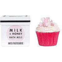Miss Patisserie milk and honey bath melt 80g