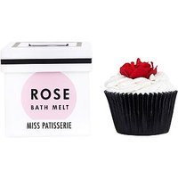 Miss Patisserie red rose bath melt 80g
