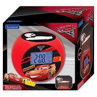 Lexibook disney cars projector alarm clock