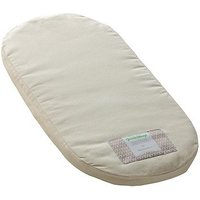 The Little Green Sheep Natural Mattress to fit Mamas & Papas Moses Basket