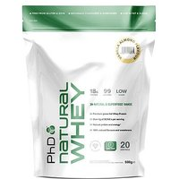 PhD Natural Whey Protein Powder - Vanilla Almond (500g)