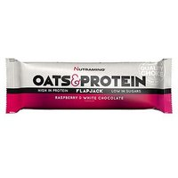 Nutramino Oat & Protein Flapjack - Raspberry & White Chocolate
