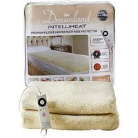 Dreamland Intelliheat Premium Fleece Heated Mattress Protector - Single