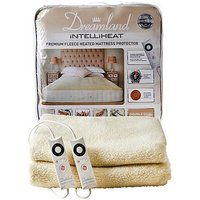 Dreamland Intelliheat Premium Fleece Heated Mattress Protector - Double