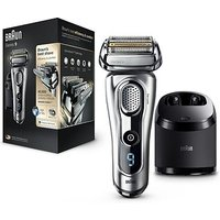Braun Series 9 9290cc Wet & Dry Electric Shaver with Clean & Charge System - Silver