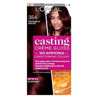 Casting Crme Gloss 354 Mahogany Henna Brown Semi-Permanent Hair Dye