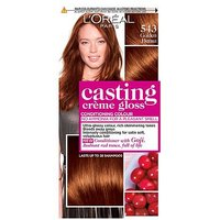 Casting Crme Gloss 543 Golden Henna Brown Semi-Permanent Hair Dye