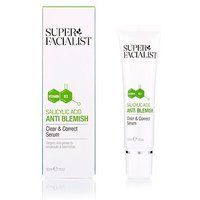 Super Facialist Salicylic Acid Anti Blemish Clear & Correct Serum 30ml