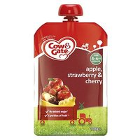 Cow & Gate Apple, Strawberry & Cherry from 4-6m Onwards 100g