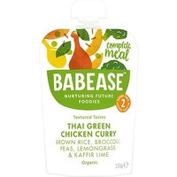 Babease Organic Brown Rice & Chicken with Thai Herbs & Spices from Around 7 Months 130g