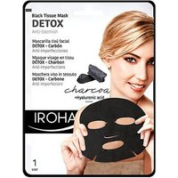 Iroha Black Tissue Detox Facial Mask - Charcoal