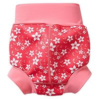 Splash About Happy Nappy Pink Blossom X Large, 12-24 Months