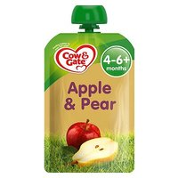 Cow & Gate Apple & Pear from 4-6m Onwards 100g