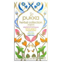 Pukka organic herbal collection teabags