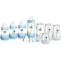Mam easy start bottle blue set