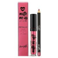 Barry M Metallic Lip Kit - Allure