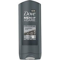 Dove Men+Care Body Wash Charcoal & Clay 400ml