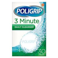 Poligrip 3 Minute Ultra Carton Cleanser 30s