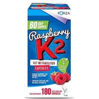Forza Raspberry K2 Fat Metaboliser Capsules - 60 Day Supply (180 capsules)