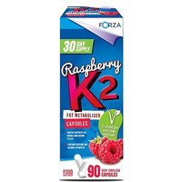 Forza Raspberry K2 Fat Metaboliser Capsules - 30 Day Supply (90 Capsules)
