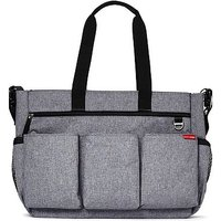 Duo Double Signature Changing Bag - Heather Grey
