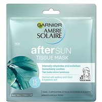 Ambre Solaire After Sun Cooling Face Sheet Mask
