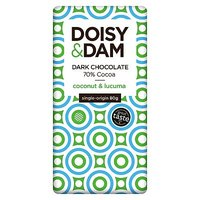 Doisy & Dam Coconut and Lucuma Dark Chocolate 80g