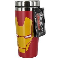 Marvel Avengers iron man travel mug