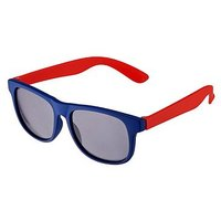 Boots Kids Royal Blue Rubber Wayfarer Sunglasses with Red Arms