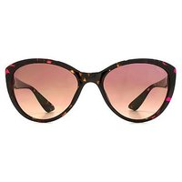 Sunna Womens Classic Shiny Transparent Cateye Sunglasses