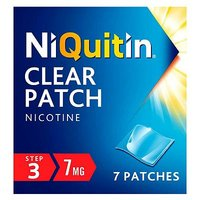 NiQuitin Clear 7 mg Patch Step 3 - 7 Patches