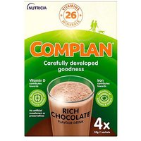 Complan nutritious vitamin-rich drink - chocolate 4 x 55g