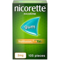 Nicorette Freshfruit 2mg Gum - 105 pieces