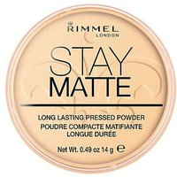 Rimmel Stay Matte Pressed Powder Transparent Transparent