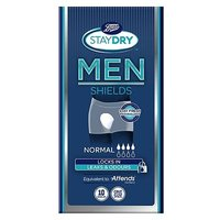 Boots Pharmaceuticals Staydry for Men Normal (10 Shields)